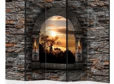 Paraván - Castle Window II [Room Dividers]